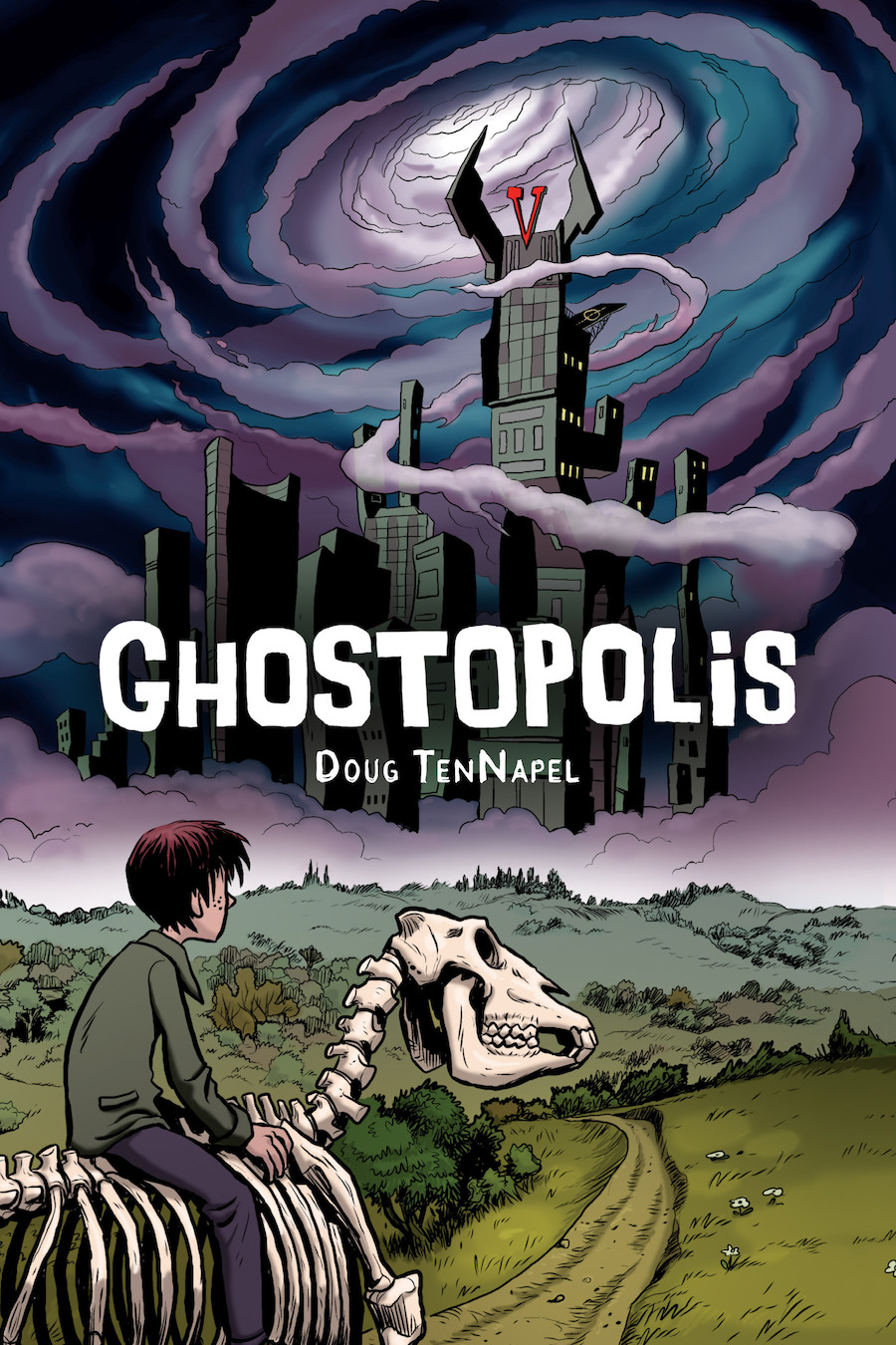 The cover of Ghostopolis